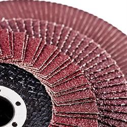Круг КЛТ1 125х22,2 38А Р180 (№6) циркониевый - фото 5246