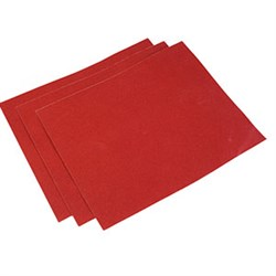Набор шлифшкурки из 5-ти листов 120х60мм с прижимом - фото 5967