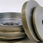 Круг алмазный 12R4 (тарельчатый) 100х3х2х10х32 АС4 160/125 100% В2-01 9,5 карат
